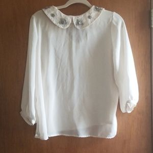Vintage blouse by LC Lauren Conrad
